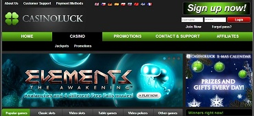 CasinoLuck NetEnt