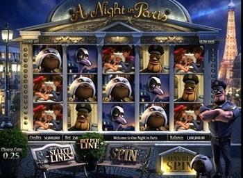 Night in Paris Betsoft Slot