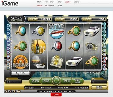 IGame Mega Fortune NetEnt
