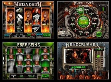 Megadeth Leander Slot