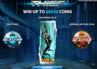 NetEnt Thief Slot