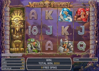 NetEnt Wild Turkey Slot