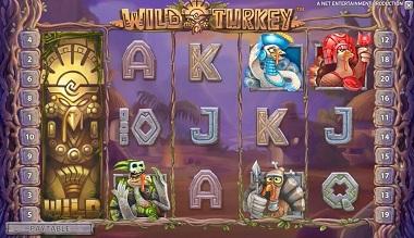 Wild Turkey NetEnt Slot Casino