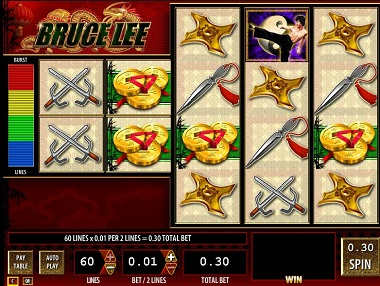 Bruce Lee Williams Interactive WMS slot