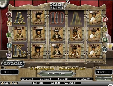 CasinoLuck NetEnt Big Win