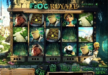 Frog Royale Slot From Sheriff Gaming