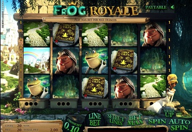 Frog Royale Slot Sheriff Game