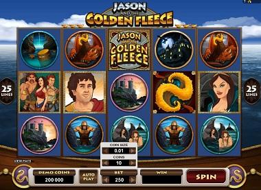 Jason Golden Fleece Slot Microgaming