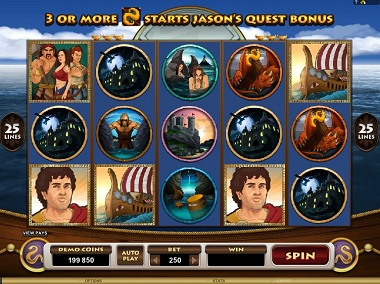 Jason and the Golden Fleece Slot Microgaming
