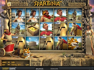 Spartania Slot Sheriff Gaming Casino