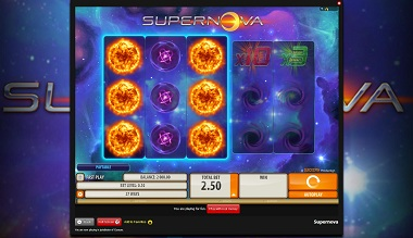 Supernova Quickspin Slot