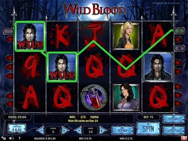Wild Blood Slot Play'n GO