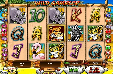 Wild Gambler Slot Playtech