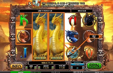 dragon casino game