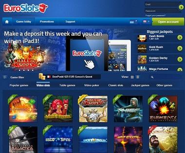 EuroSlots NetEnt Casino