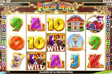 Foxin Wins Game Slot Nextgen