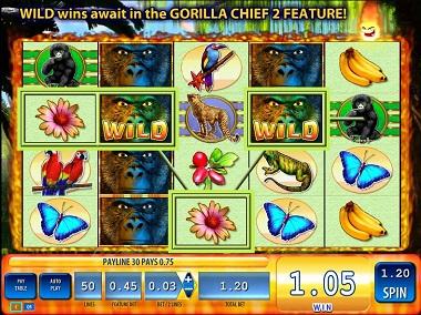 Gorilla Chief 2 Slot Williams Interactive WMS