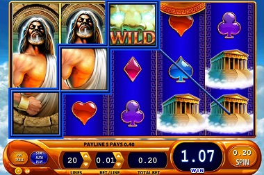 Kronos Slot Game Williams Interactive WMS