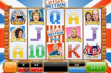 Little Britain Game Slot Ash
