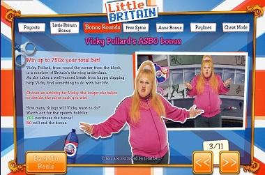 Little Britain Slot Ash