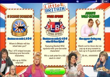 Little Britain Slot Game Ash