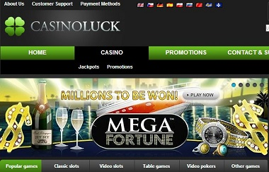 Mega Fortune NetEnt CasinoLuck