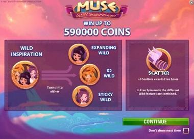 Muse NetEnt Slot