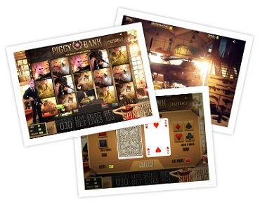 Piggy Bank Slot Game Sheriff