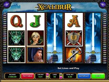 Xcalibur Slot Push