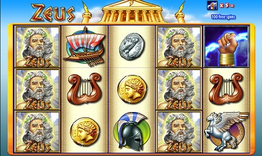 Zeus Williams Interactive Slot
