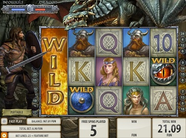 Beowulf Slot Game Quickspin