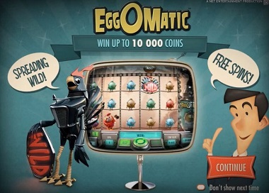 EggOMatic NetEnt Slot