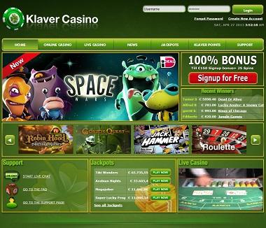 Klaver casino bonus no deposit roulette cam uk