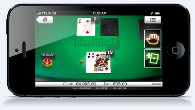 NetEnt Blackjack Mobile