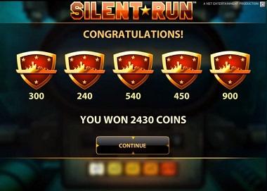 NetEnt Silent Run Slot