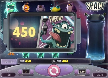 Space Wars Slot NetEnt