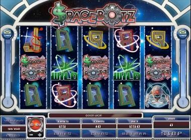 Spacebotz slot game