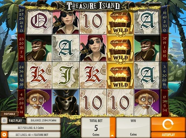 Treasure Island Game Slot Quickspin
