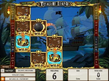 Treasure Island Slot Game Quickspin