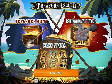 Treasure Island Slot Quickspin