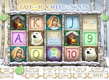 East of the sun west of the moon Slot