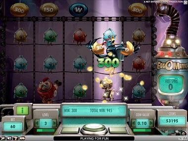 EggOMatic Game Slot NetEnt