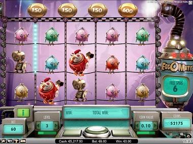 EggOMatic NetEnt Game Slot