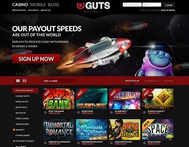 Guts Casino Fast Payouts