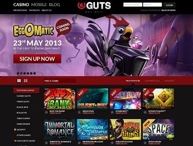 Guts.com Casino