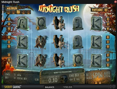 Midnight Rush Slot Sheriff