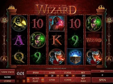 Path of the Wizard Slot Game