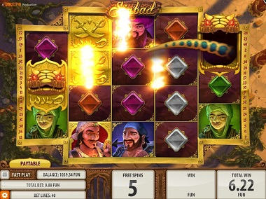 Sinbad Game Quickspin