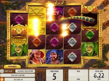 Sinbad Game Quickspin