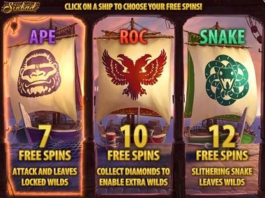 Slot Quickspin Sinbad